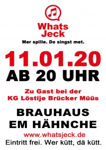 Plakat KG Löstije Brücker Müüs